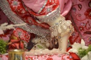 Krishna's Feet