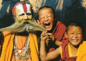 monks and sadhu