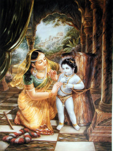 yashodha and krishna