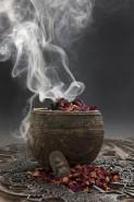 smoke incense