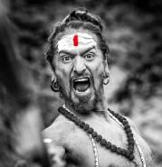 Shouting Sadhu