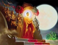 Buddha Return From Tavatimsa