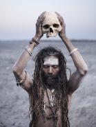 aghori-human-skull