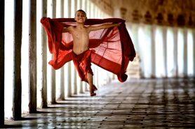 flying monk